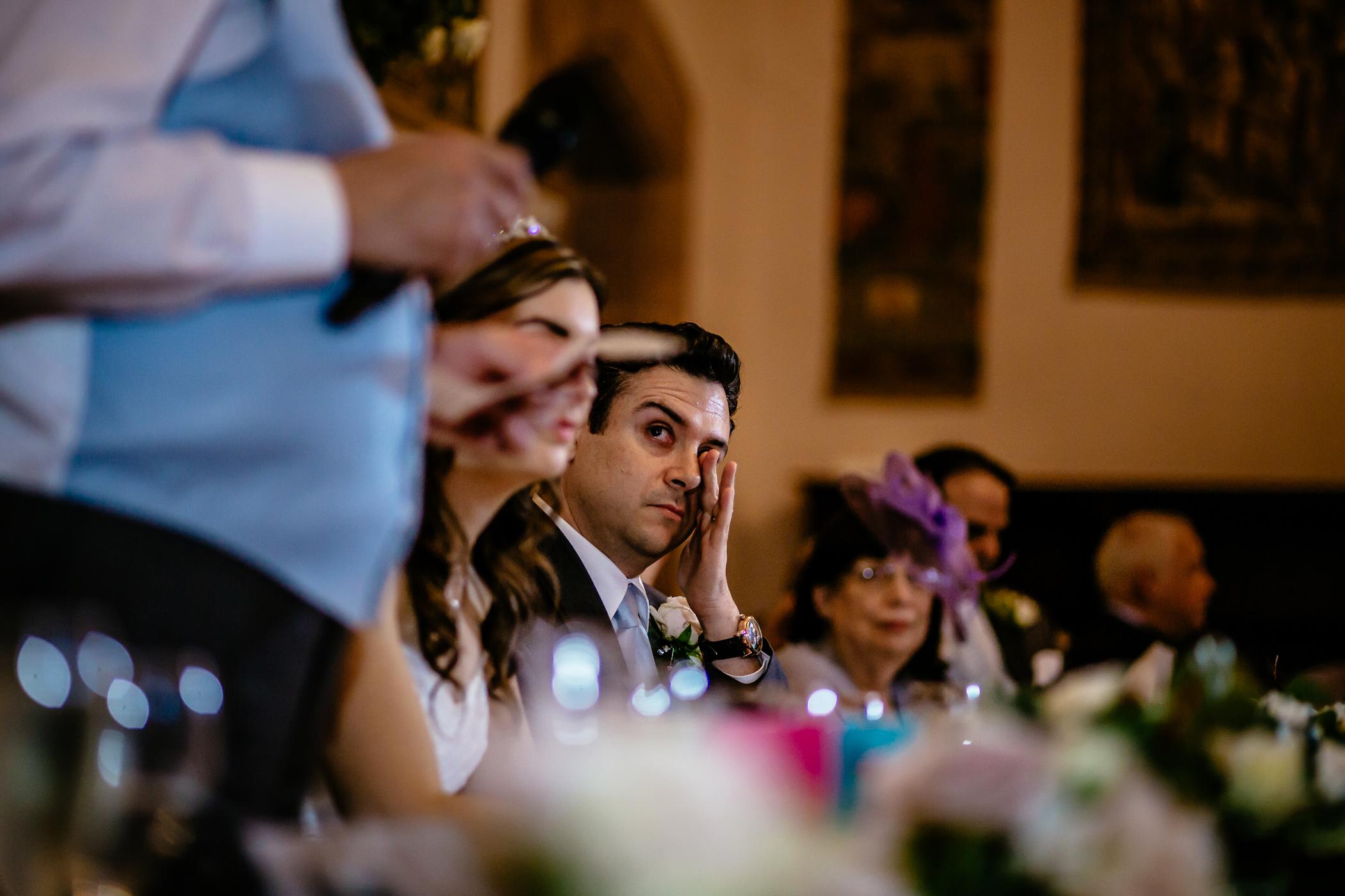 Emma & Alex Peckforton castle wedding - Sansom Photography-47
