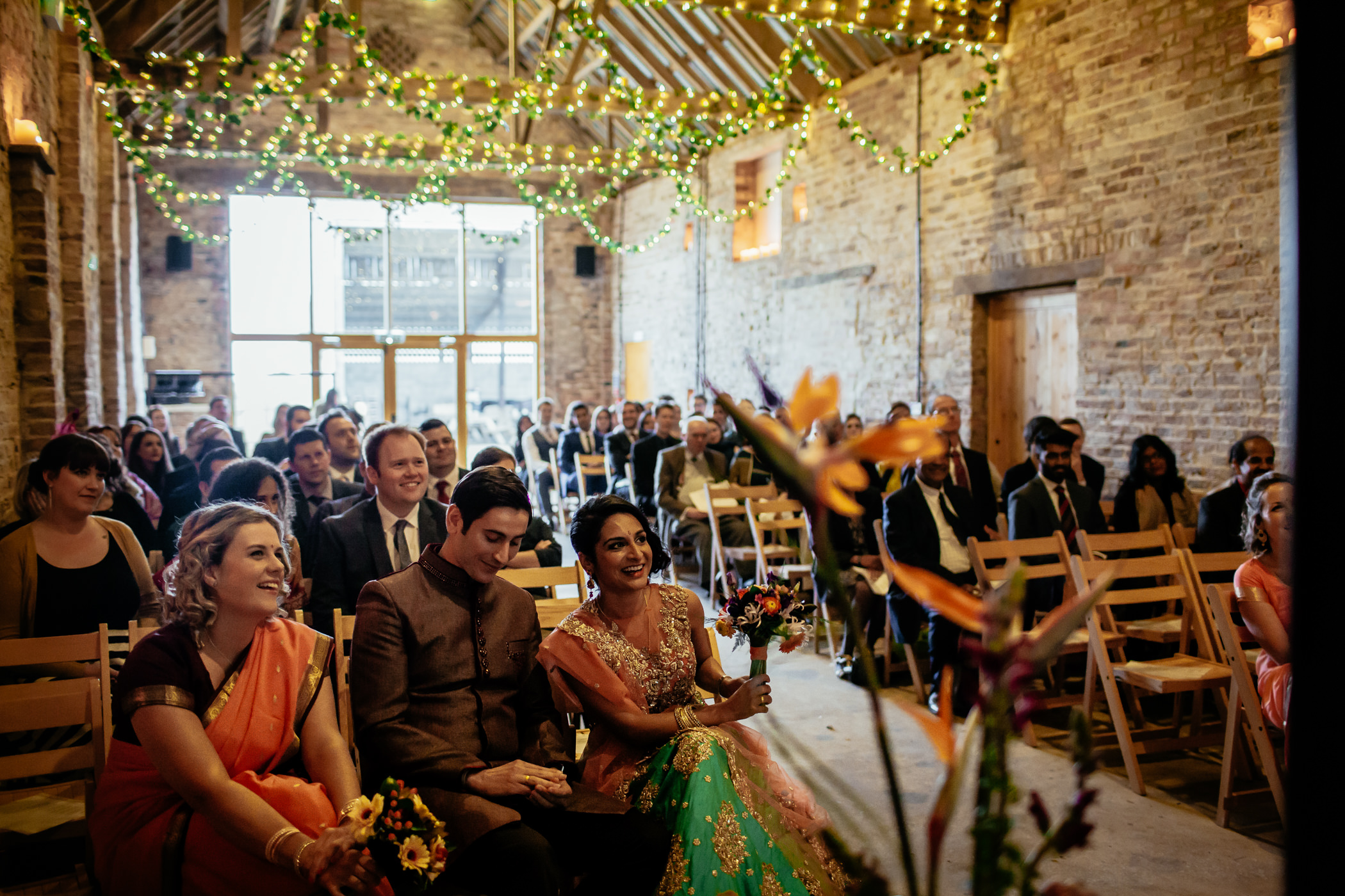 Mekhala & Gareth - Sansom Photography Barmbyfield Barns Wedding York-10