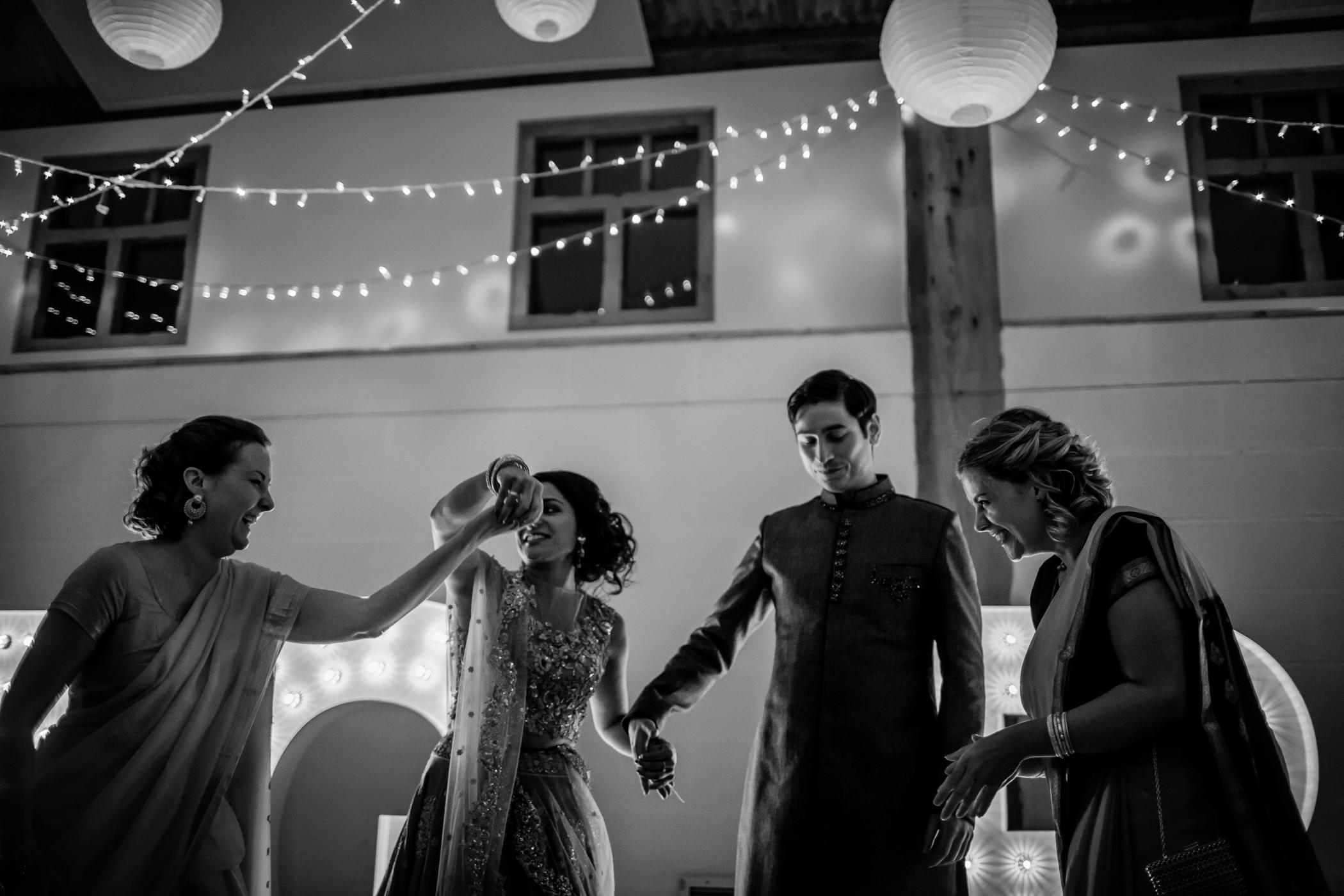 Mekhala & Gareth - Sansom Photography Barmbyfield Barns Wedding York-30