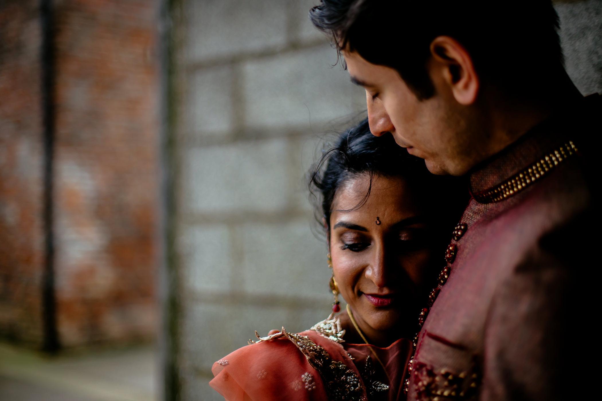 Mekhala & Gareth - Sansom Photography Barmbyfield Barns Wedding York-38