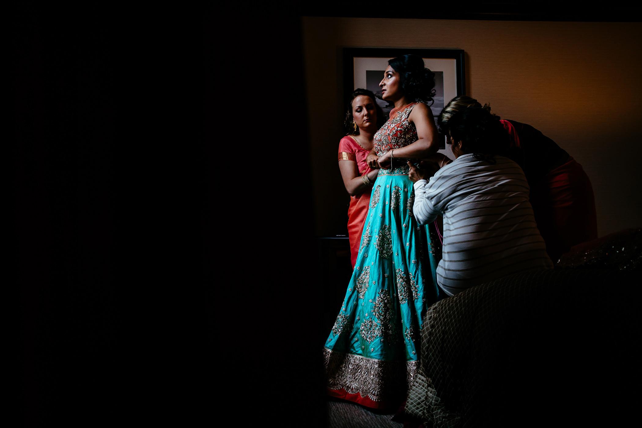 Mekhala & Gareth - Sansom Photography Barmbyfield Barns Wedding York-39