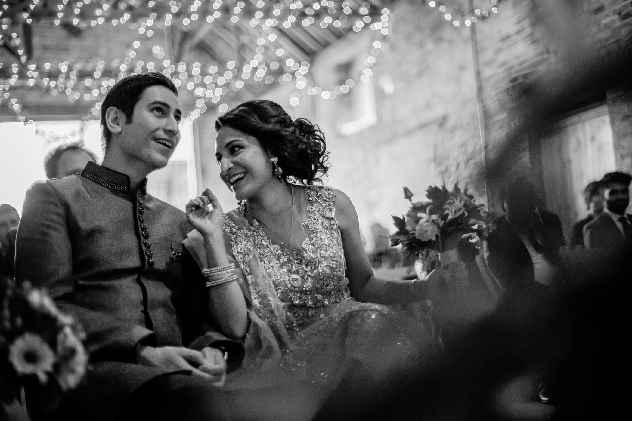 Mekhala & Gareth - Sansom Photography Barmbyfield Barns Wedding York-9