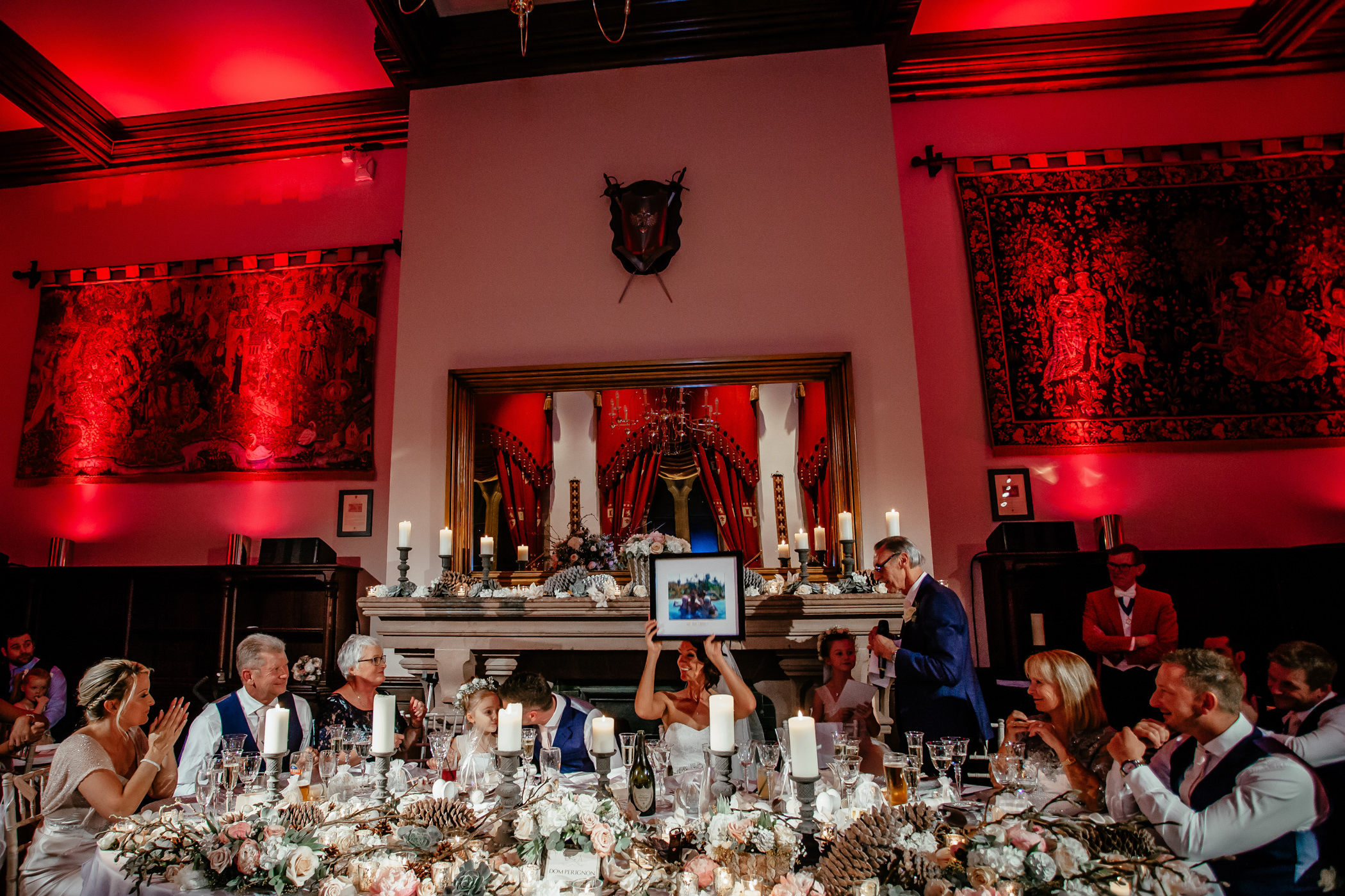 Ant & Louise NYE Peckforton Castle Wedding- Sansom Photography-100