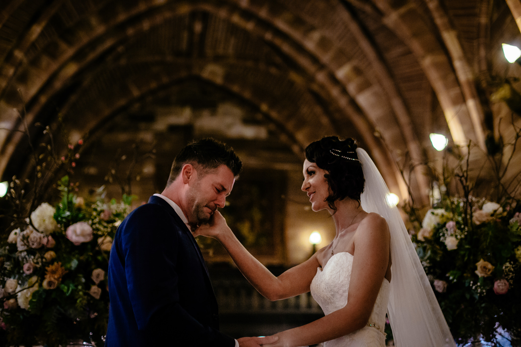 Ant & Louise NYE Peckforton Castle Wedding- Sansom Photography-12