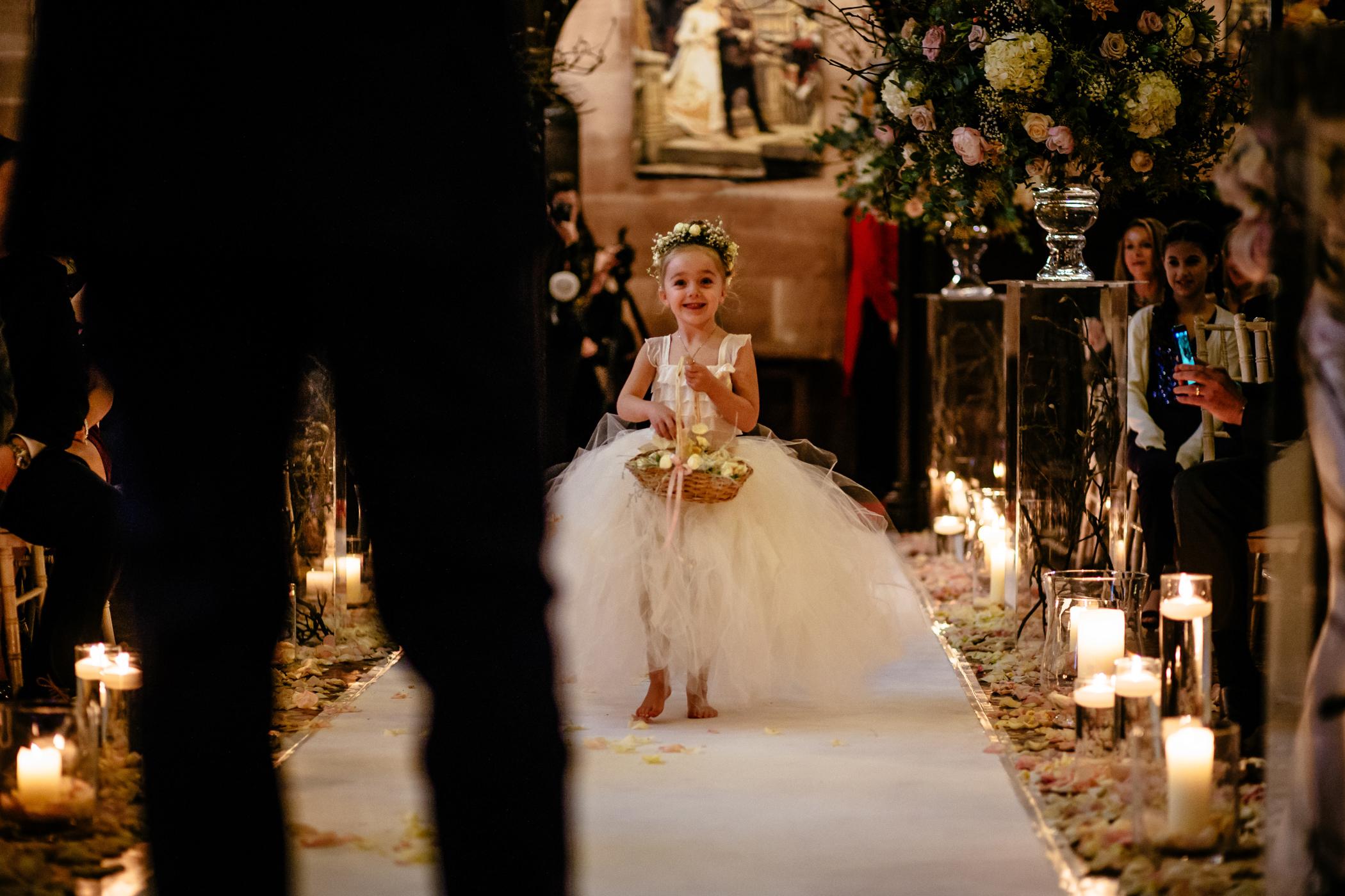 Ant & Louise NYE Peckforton Castle Wedding- Sansom Photography-14