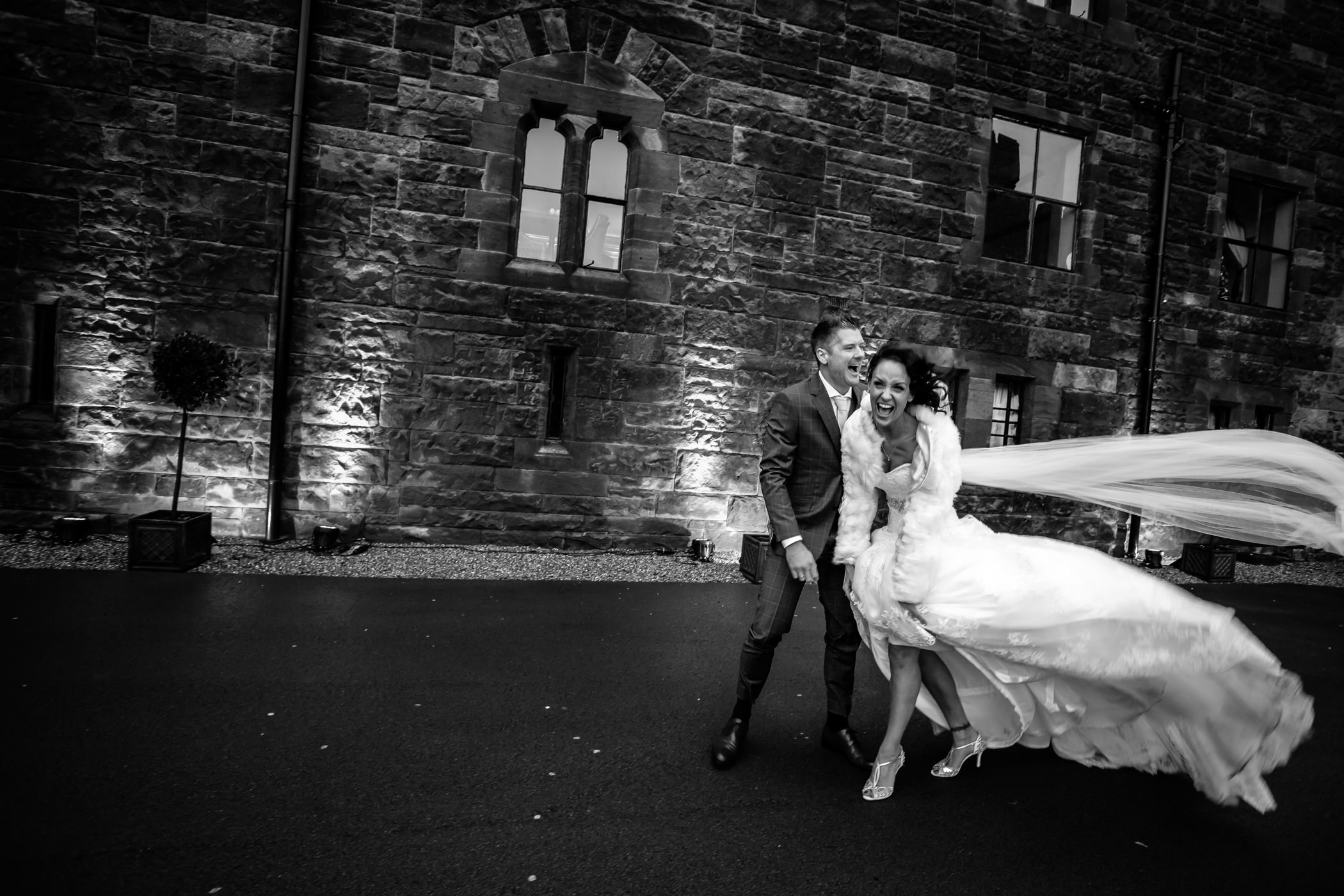 Ant & Louise NYE Peckforton Castle Wedding- Sansom Photography-18