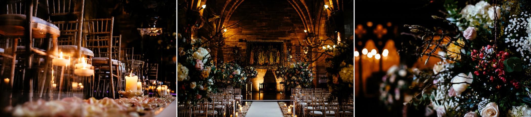Ant & Louise NYE Peckforton Castle Wedding- Sansom Photography-300