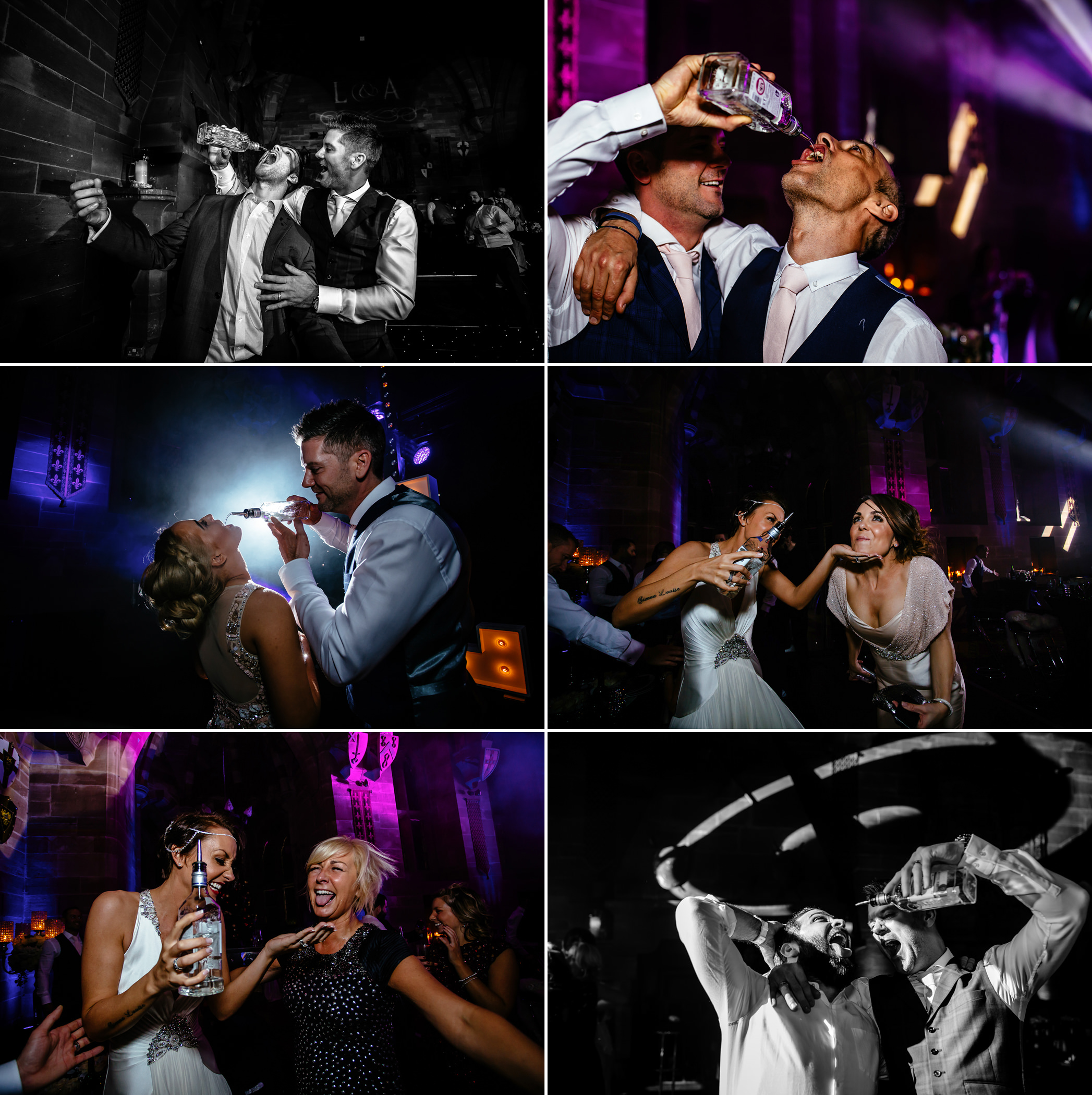 Ant & Louise NYE Peckforton Castle Wedding- Sansom Photography-321