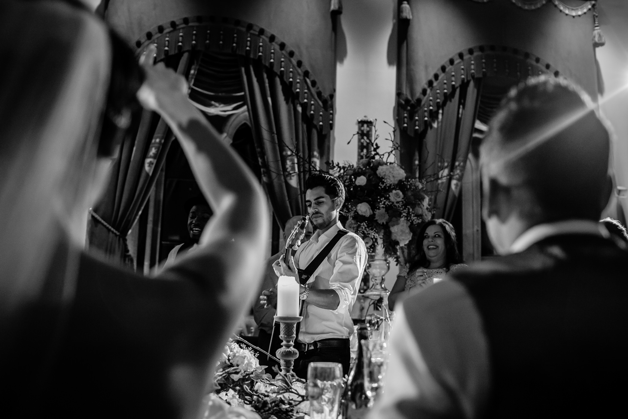 Ant & Louise NYE Peckforton Castle Wedding- Sansom Photography-50