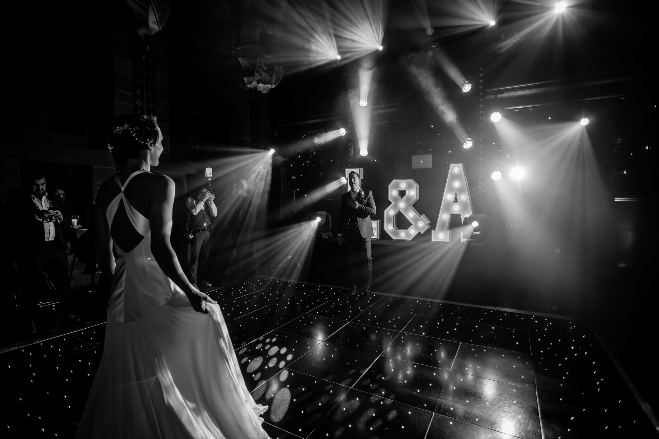 Ant & Louise NYE Peckforton Castle Wedding- Sansom Photography-53