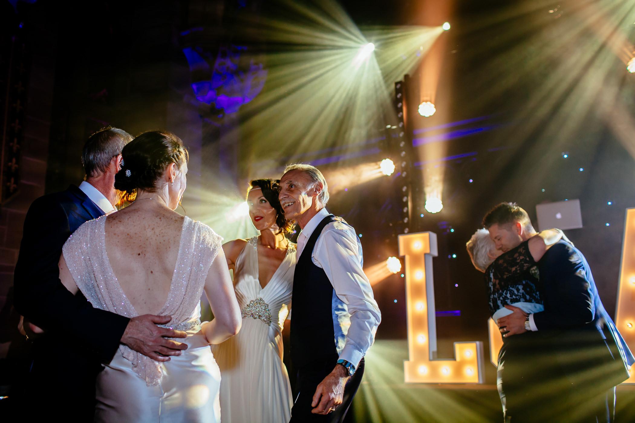 Ant & Louise NYE Peckforton Castle Wedding- Sansom Photography-56