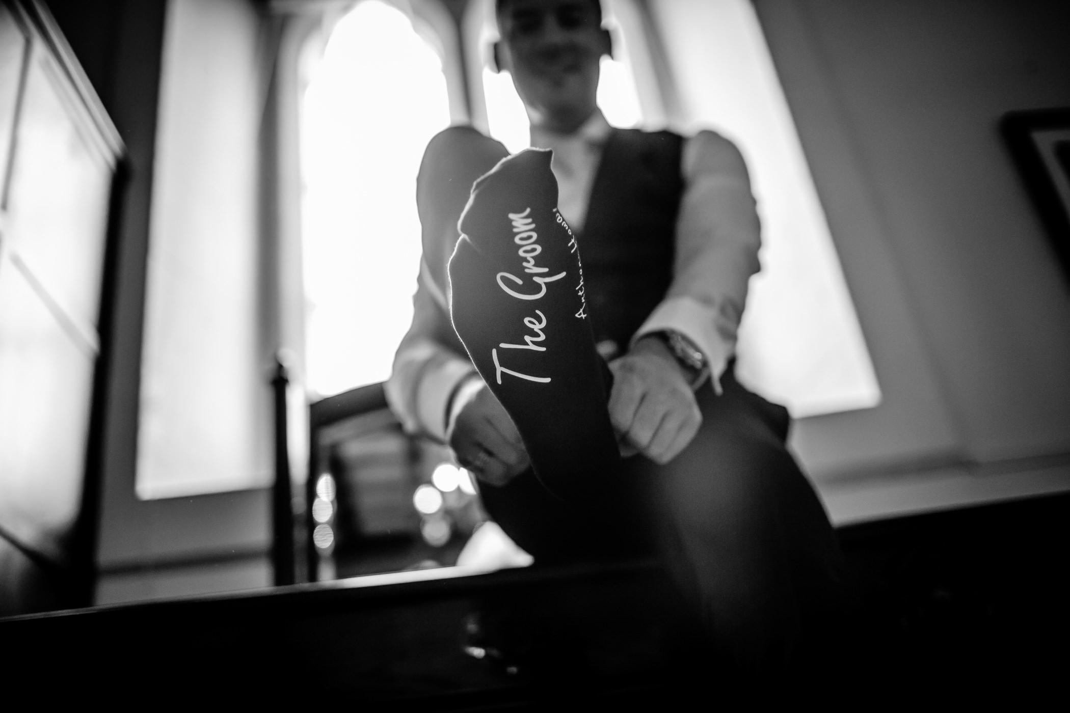 Ant & Louise NYE Peckforton Castle Wedding- Sansom Photography-6