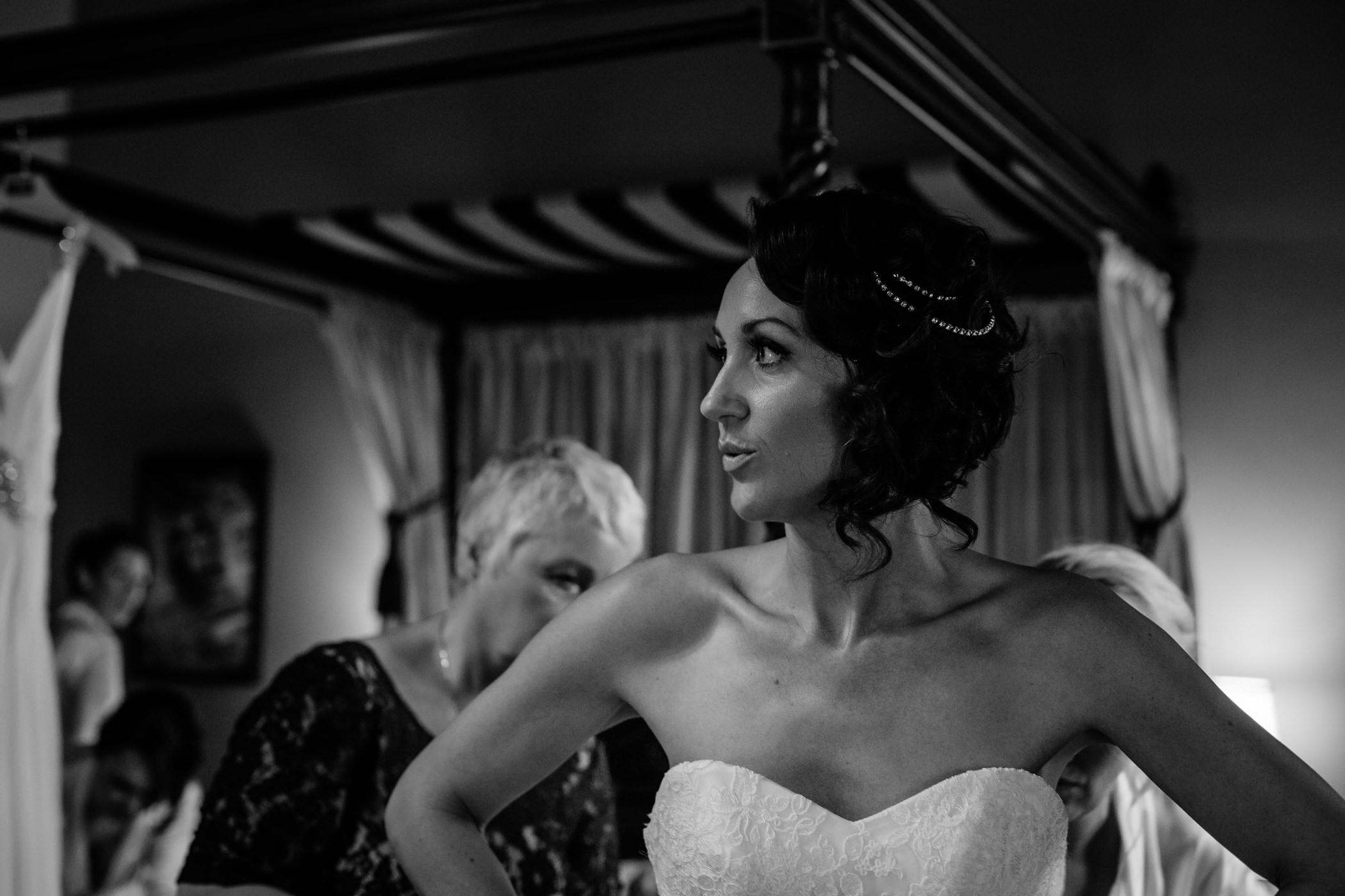 Ant & Louise NYE Peckforton Castle Wedding- Sansom Photography-92