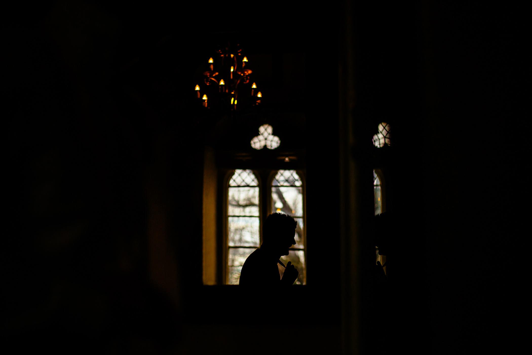 Ant & Louise NYE Peckforton Castle Wedding- Sansom Photography-97