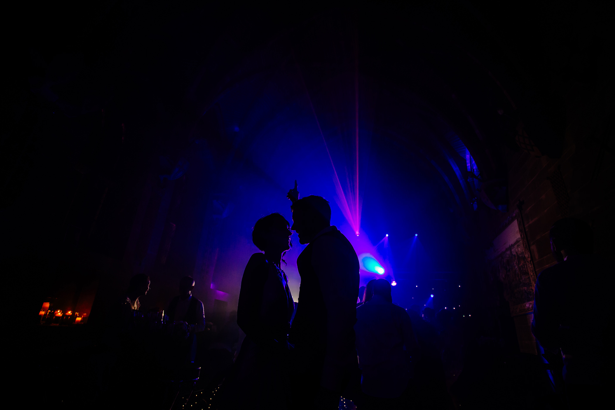 Ant & Louise NYE Peckforton Castle Wedding- Sansom Photography-98