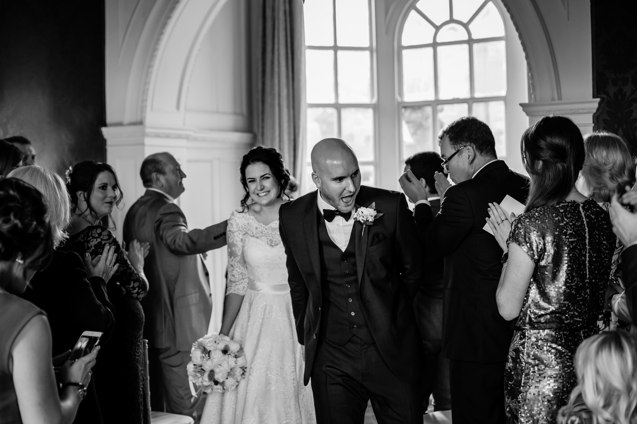Georgie & steve - Sansom photography Grays Court York Wedding-17