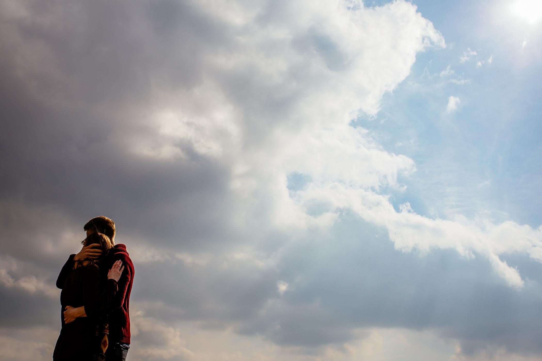Helen & Adam Malham Cove engagement Photography Sansom photography-10